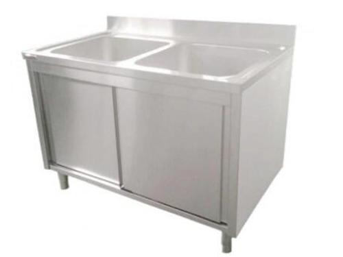 双槽水池柜